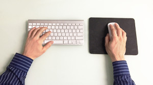 ergonomic tips keyboard and mouse