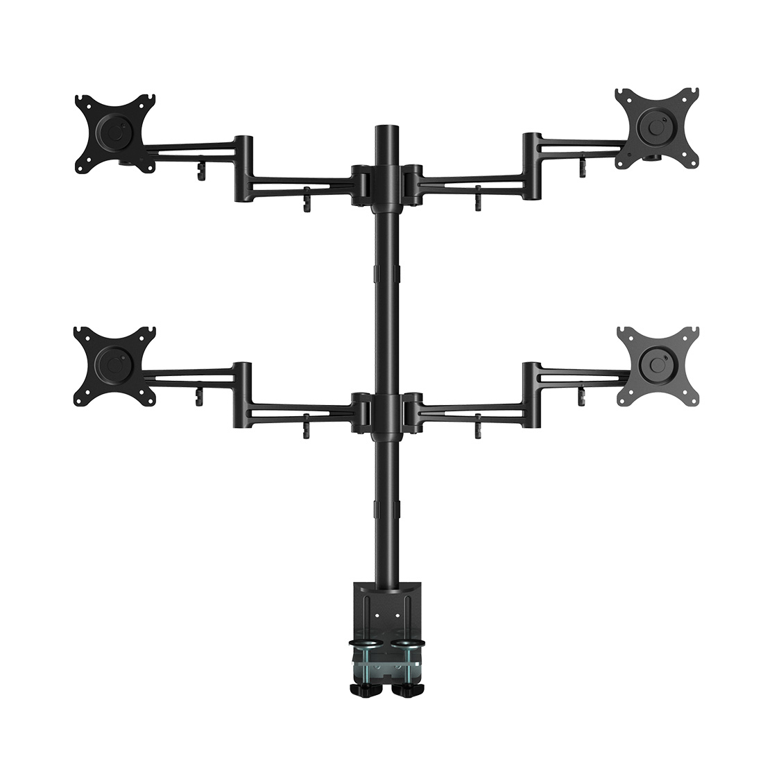 loctek-d2q-full-motion-quad-monitor-arm-desk-mount-stands-10-27-max-22-lbs