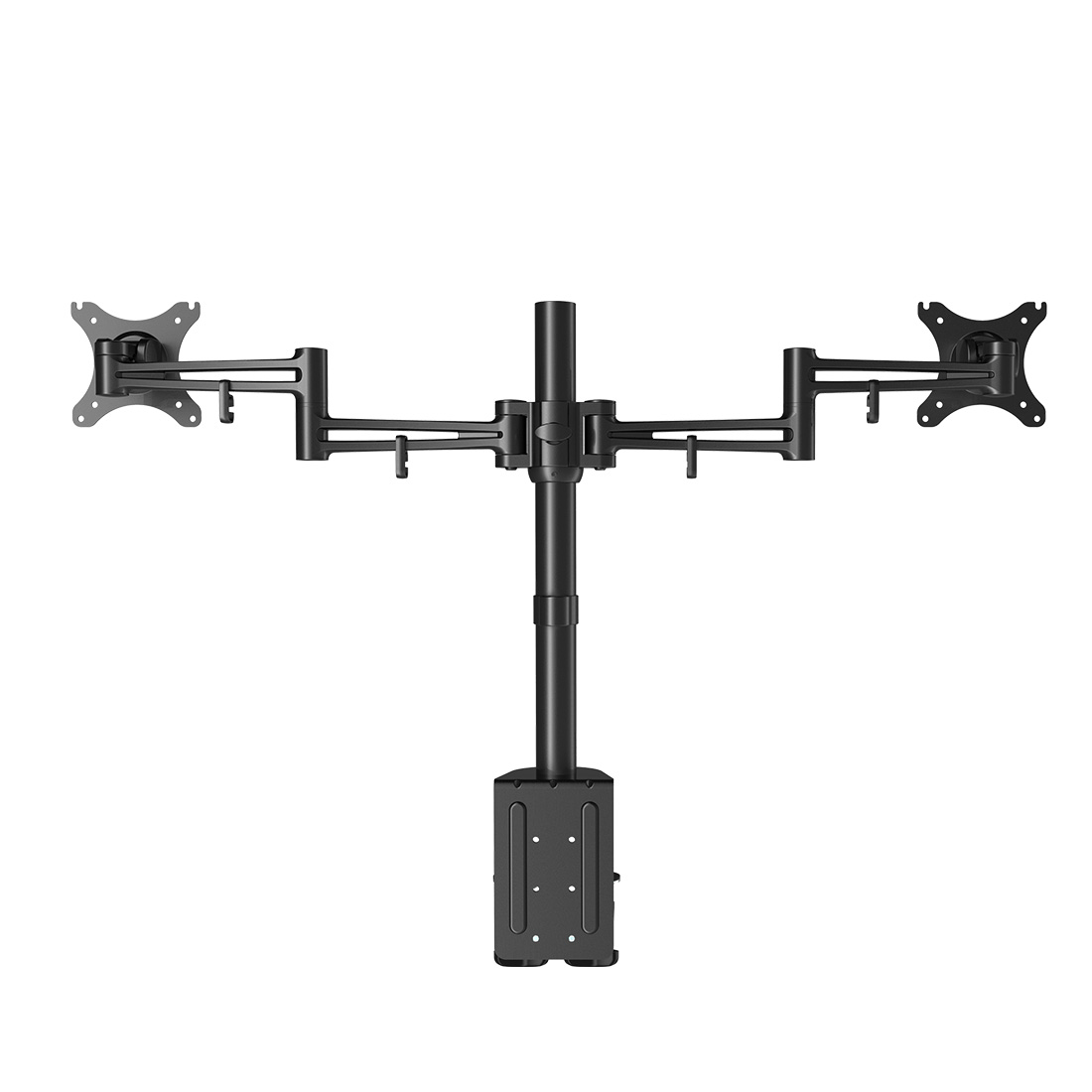 LOCTEK D2D FULL MOTION DUAL ARM DESK MONITOR MOUNT STAND