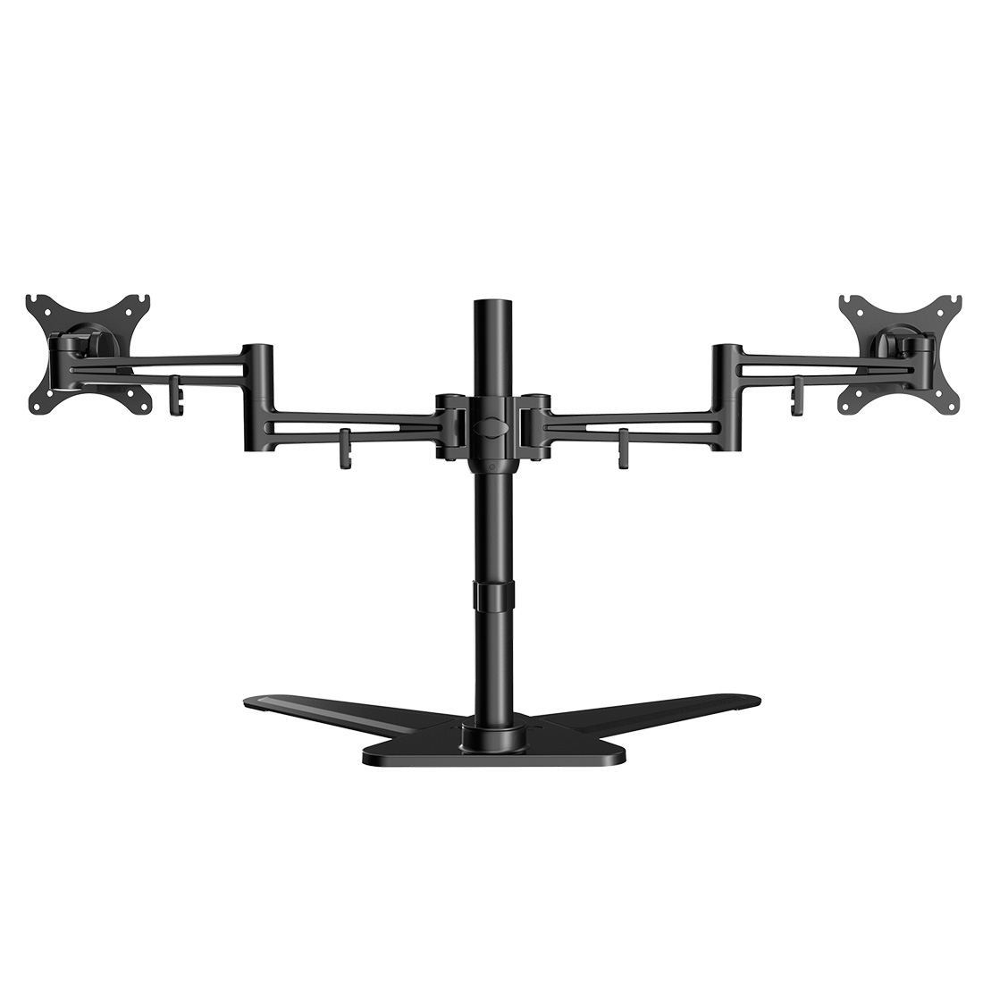 LOCTEK DF2D FULL MOTION FREE STANDING DUAL MONITOR ARM