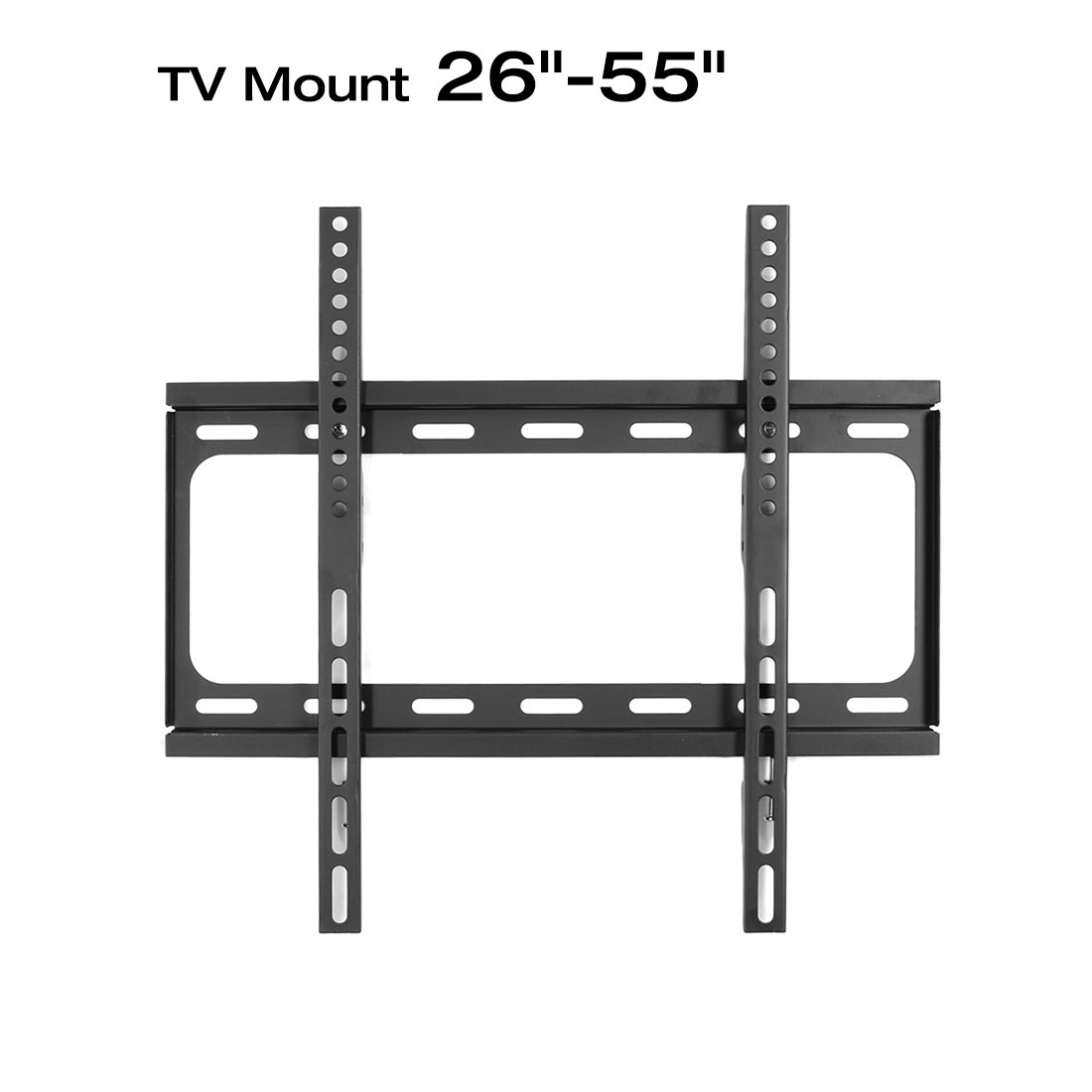 Loctek F1S LOW PROFILE FIXED LED TV BRACKET 26″ – 55″. It fits for Samsung LG VIZIO Seiki Sony Toshiba Sharp Panasonic TCL TV etc.