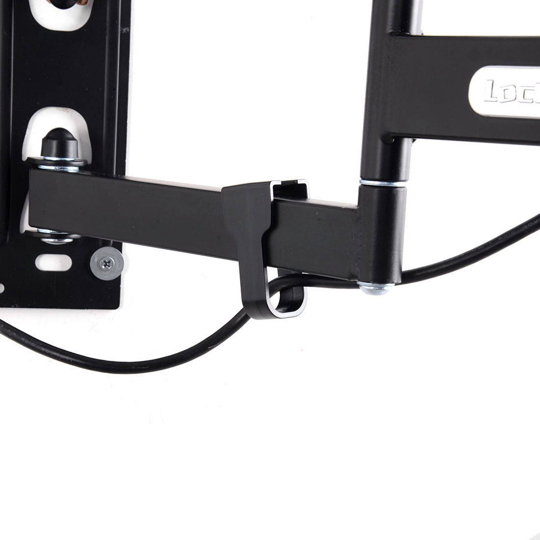Loctek L2 Full Motion Articulating Wall Mount Bracket for 14-42 Inches TV, Black