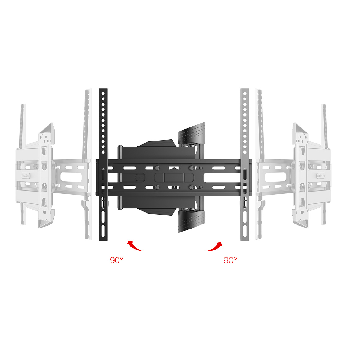 Loctek Full Motion TV Wall Mount Bracket Articulating for 32-50 Inch TV,fits most LCD/LED monitors.It supports monitors up to 55 pounds. you can easily and comfortably adjust screen. Cheap and reasonable Price!