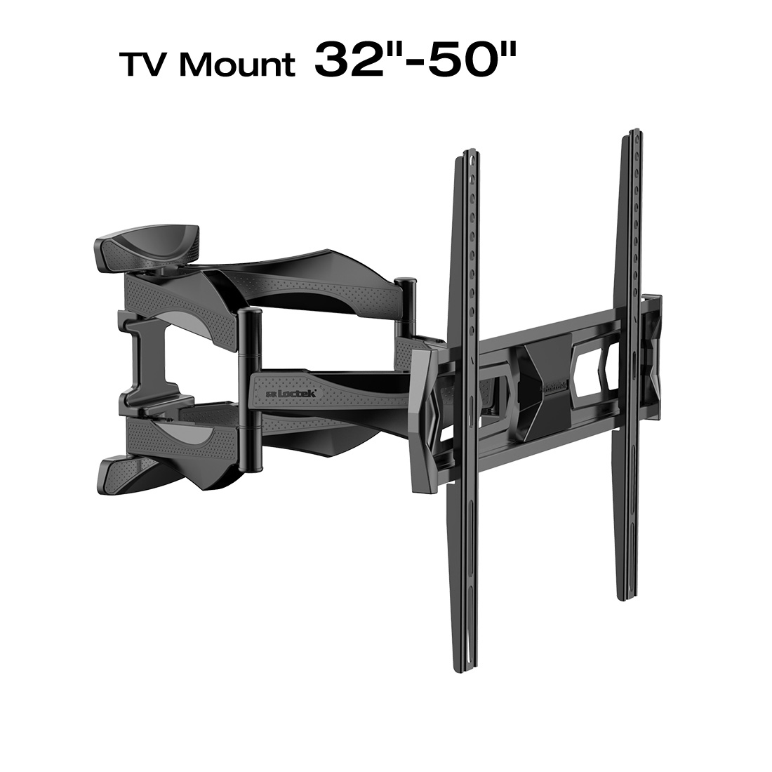 Loctek L6 Full Motion Wall Mount Bracket Articulating for 32-50 Inches TV
