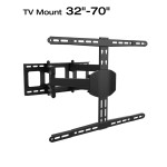 Loctek L8 Full Motion Wall Mount Bracket Articulating for 32-70 Inches LCDLED TV