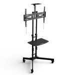 LOCTEK MOBILE TV CART W/ DVD SHELF & CAMERA PLATE FOR 32''-65'' TVS P3B