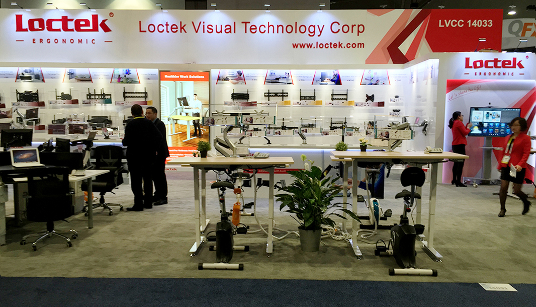 Loctek Showcasing Products at Two CES 2016 Booths