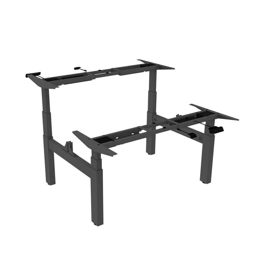 LOCTEK HAD3H DUAL HEIGHT ADJUSTABLE STANDING DESK FRAME Sit Stand  Workstations, Electric Height Adjustable Desks